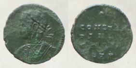 les monnaies anépigraphes pour les vicennales de Constantin Ier à Trèves 23710