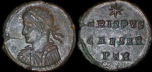 les monnaies anépigraphes pour les vicennales de Constantin Ier à Trèves 7193
