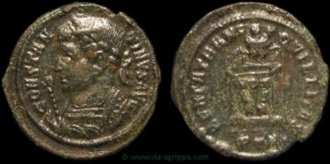 AE3 de CONSTANTIN 1er ? 15891