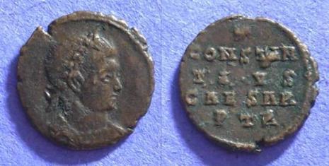 les monnaies anépigraphes pour les vicennales de Constantin Ier à Trèves 25515