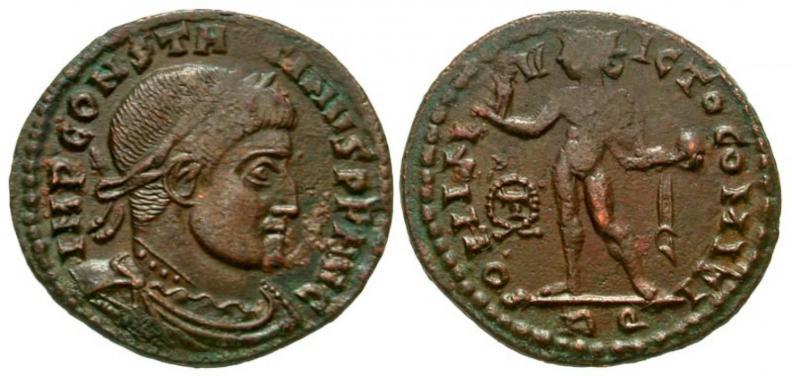 Valerianus I, strange bust 63853